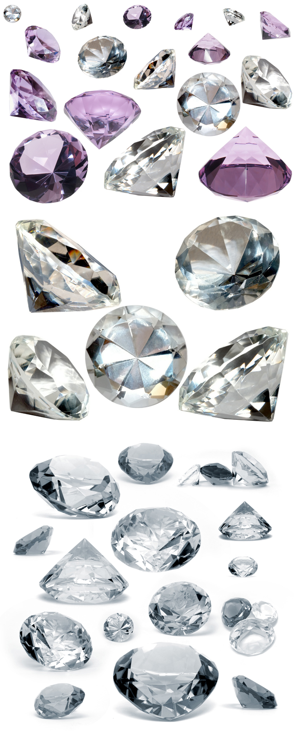 The glittering diamonds   HD Images