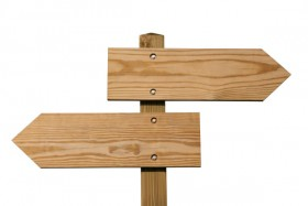 The wooden signs high definition picture