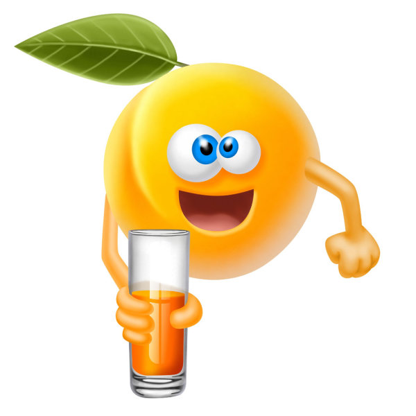 funny cartoon fruits image 04   HD Images