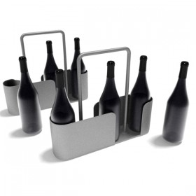 3D variety of wine related items  7
