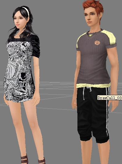 3d fashion styling men and women