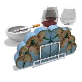 A variety 3D wine related items  6