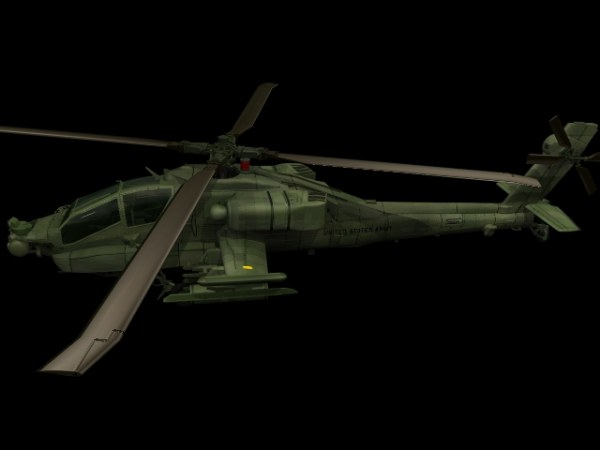 APACHE Apache helicopter gunships 3d material