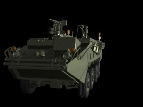 Armored vehicles model max format