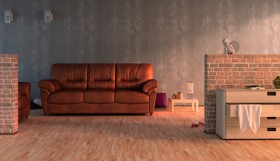 Artistic sense of living room 3D model