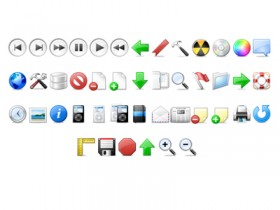 Beautiful and practical the toolbar small icon transparent png