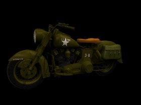 HDARMY U.S. military motorcycle