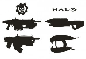 High quality pictures of the weapon silhouette 02   high definition picture