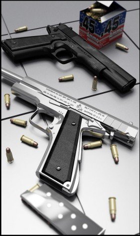 M1911a1 type pistol model (without maps. Versions max2012)