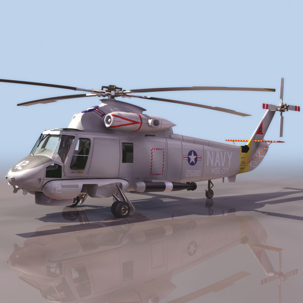 Military   Helicopter 3D material