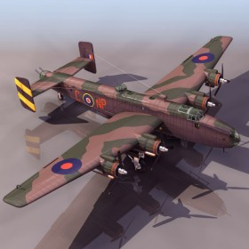 Military   fighter 3D material