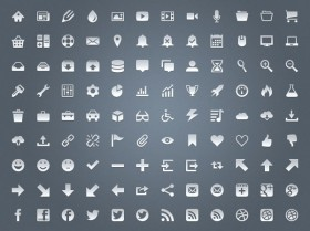 Network icon PSD layered