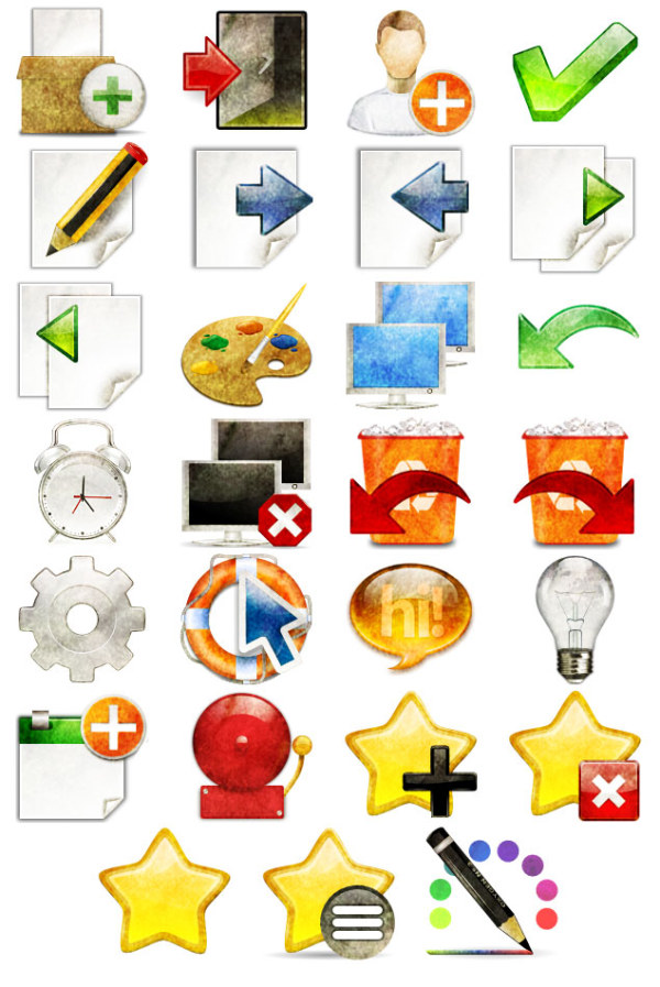 Personalized computer desktop PNG icons
