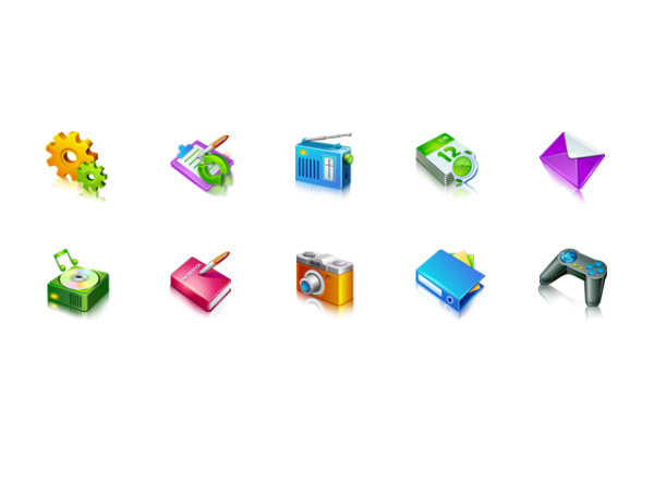 Stereo phone decorative icons png