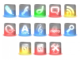 Symphony crystal style icon transparent png