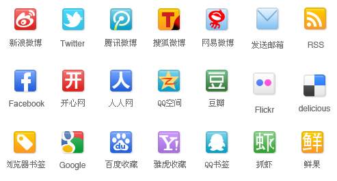 The first set of people used Web 2.0 service icon resource package download