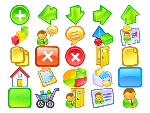 The practical crystal cartoon style icon transparent png