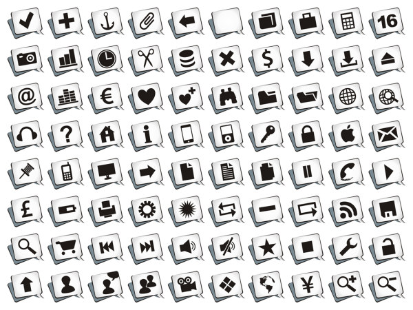 Various graphics comment icon png