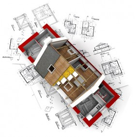 3D buildings and plan drawings of  10