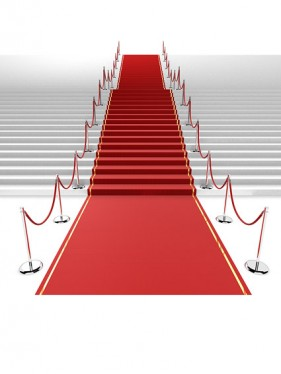 3d red carpet staircase Images