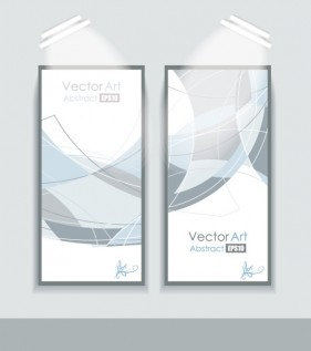 Display boards showing the effect of 01 Vector