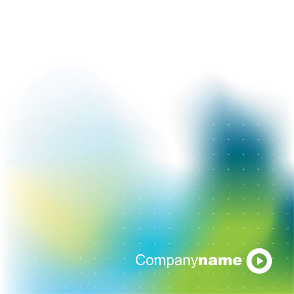 Green blue halo background 01 vector material