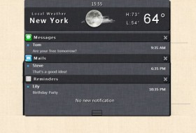 CSS3 jQuery Analog Ios5 the The notification Center