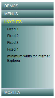 Cssplay practical the css code selection   vertical type mouse trigger the telescopic menu