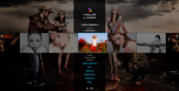 Flash Twist Template Flash website source
