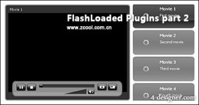 FlashLoaded brilliant flash components with the fla source file part2