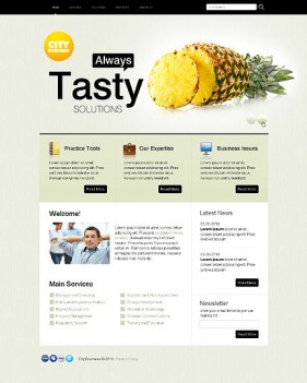 Introduction clean business css xhtml web templates