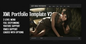 Portfolio Template V2 Flash website source template