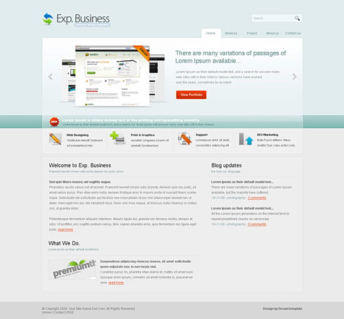 The a concise css xhtml web templates  2
