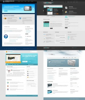 The designer dedicated web templates html psd