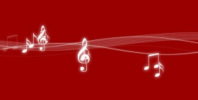 The fluttering notes flash animation source files