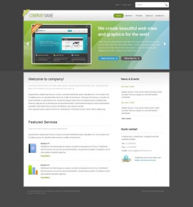Web2.0 designers Profile css xhtml js Site Template  10