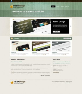 Web2.0 designers Profile css xhtml js site wide template  8