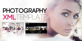 XML Photography Template Flash