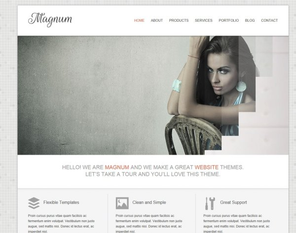 css html page templates