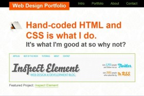 (html5) the content into the index of