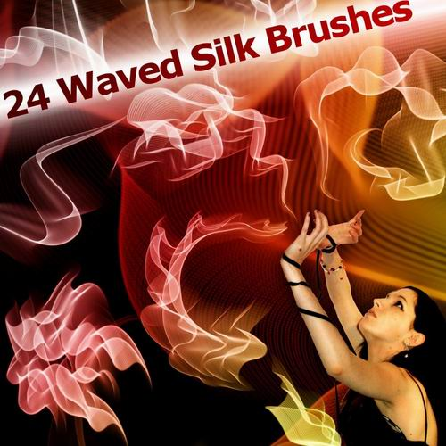 24 models of high definition flying silk PS brushes including style