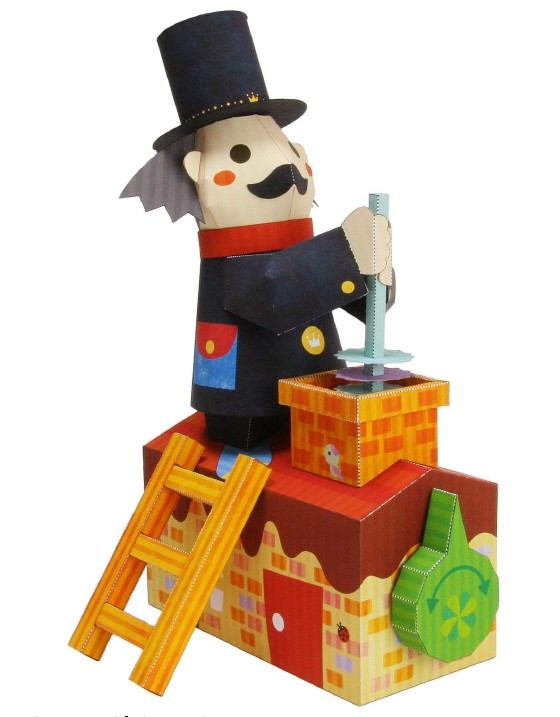 Chimney sweeps   molded paper (moving)