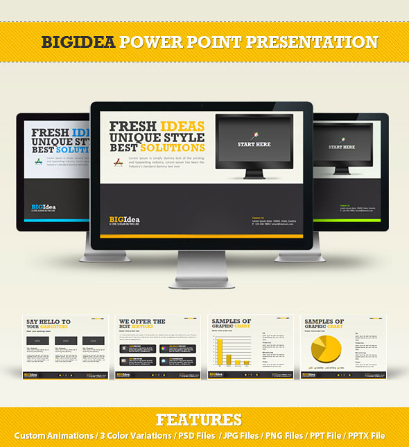 Cool PPT templates Share