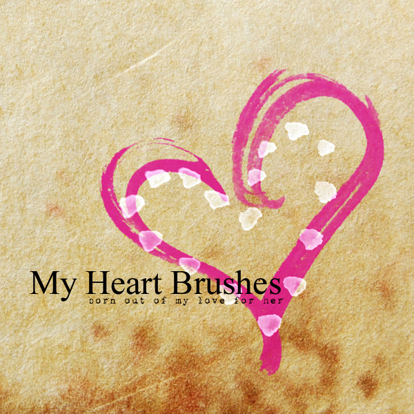 High definition PS love brushes