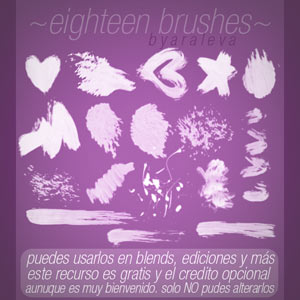 Ink styles Brushes