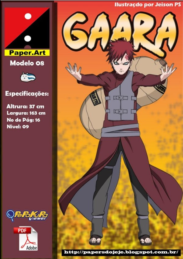 Naruto   sandstorms I love the molded paper