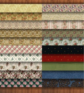 The Photoshop tile material retro pattern 20 models