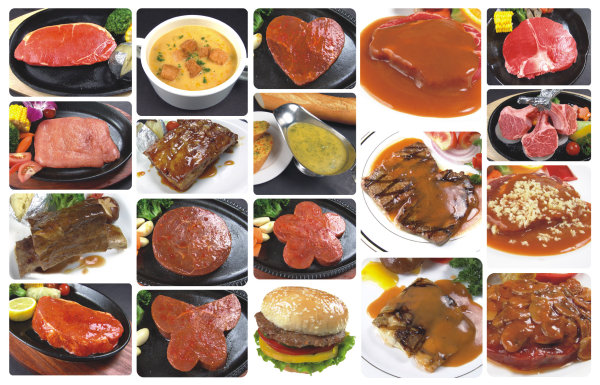 20 sheets of Western dishes is a collection of high quality pictures