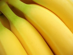 Banana close up boutique picture material  3 fruit pictures