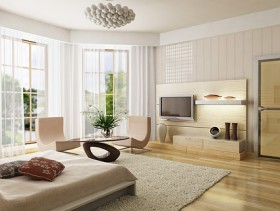 Beautiful home interior picture material  1